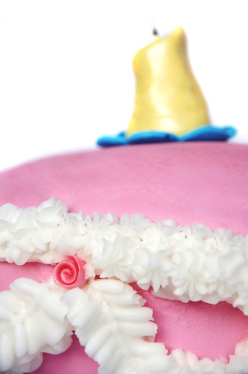 Alice in Wonderland Mad Hatter Tea Party Unbirthday Cake