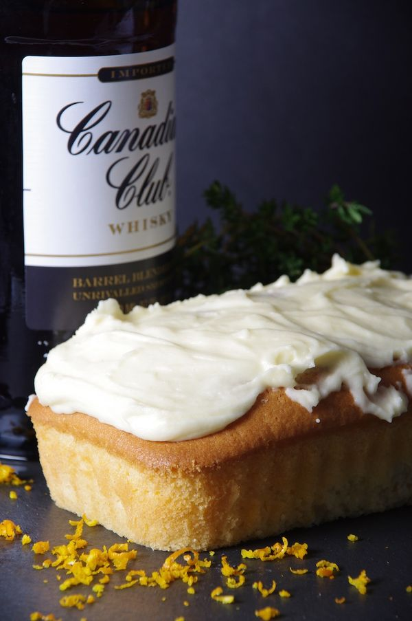 Snow White; Smoked Orange and Thyme Huntsman Cake with Smoked Whiskey Frosting