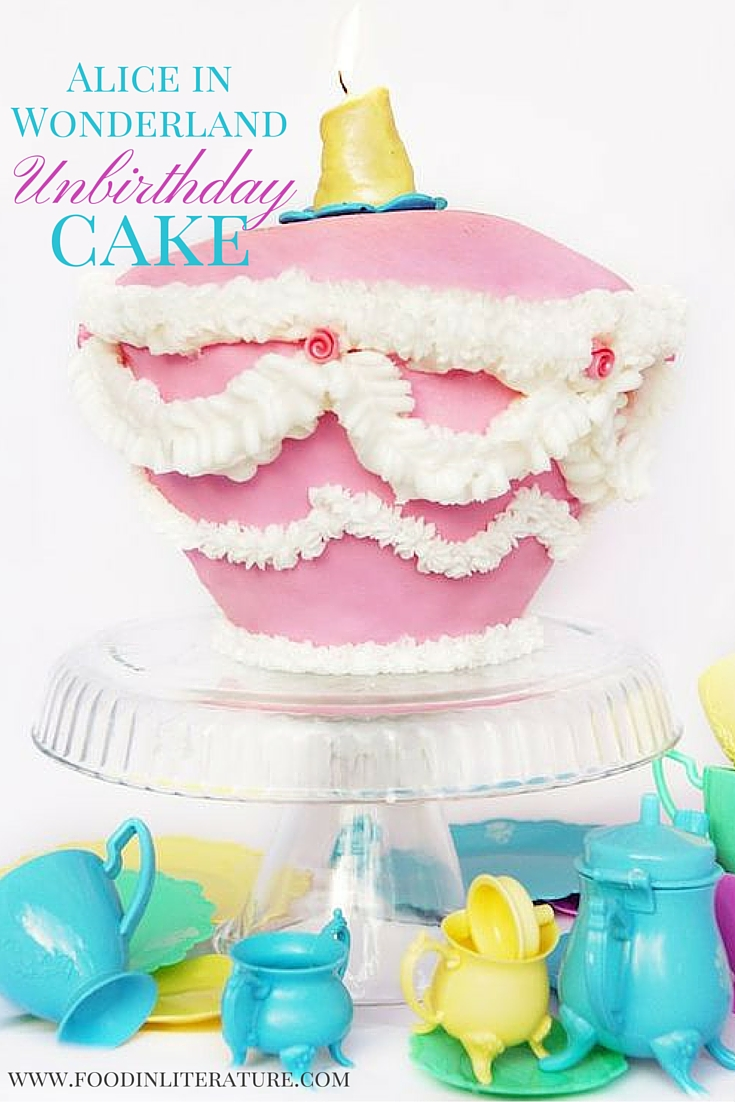 Whether you're celebrating a birthday or an unbirthday, make this Alice in Wonderland Unbirthday cake from the Mad Hatter's Tea Party (inspired by the Disney version), whatever the reason! It's easier than you think, and will be the centrepiece of your party!