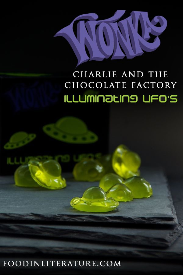 Make Luminous Lollies like Wonka from Charlie and the Chocolate Factory with this easy to make recipe.