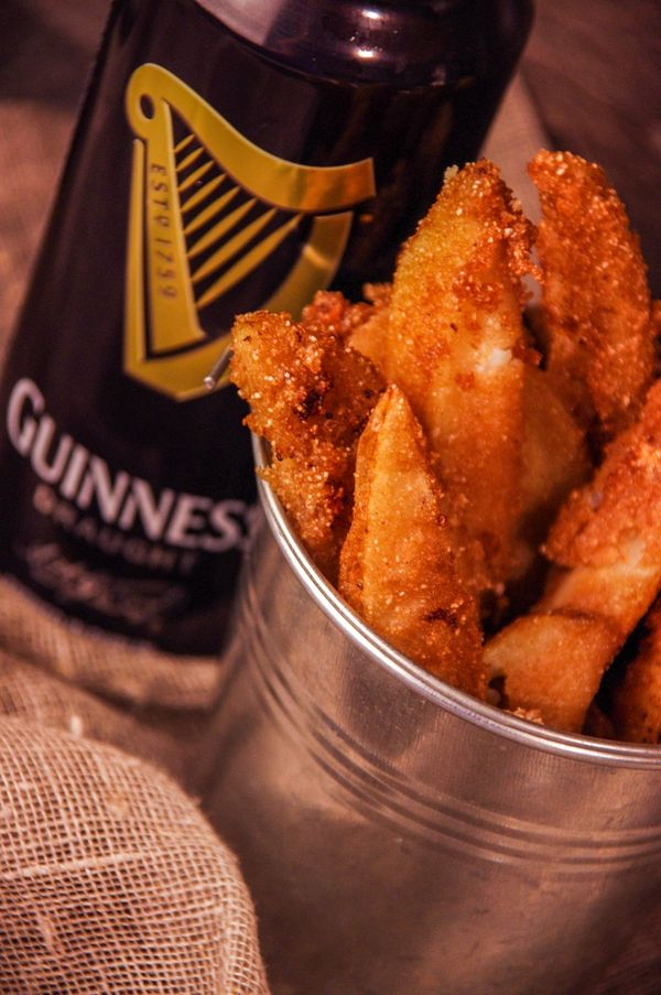 Guinness Battered Chips