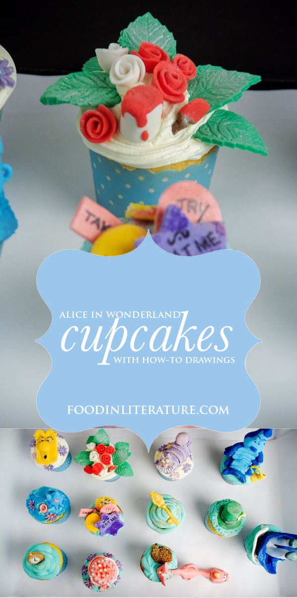 With step by step instructions on how to make these Alice in Wonderland cupcakes, you'll have the perfect party down pat.