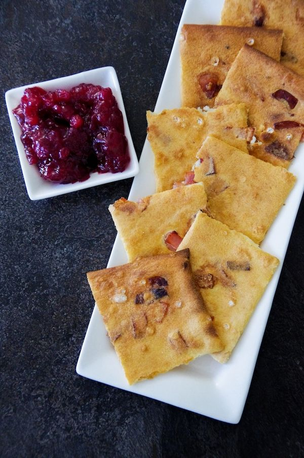 Girl With The Dragon Tattoo; Bacon Pancakes with Lingonberries (Fläskpannkaka)