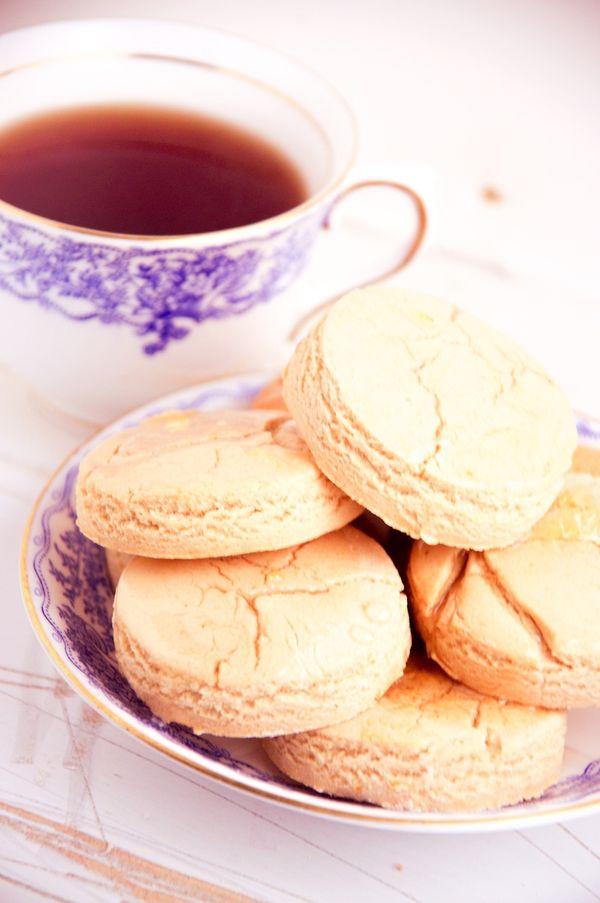 Da Vinci Code Lemon and Earl Grey Tea Scones