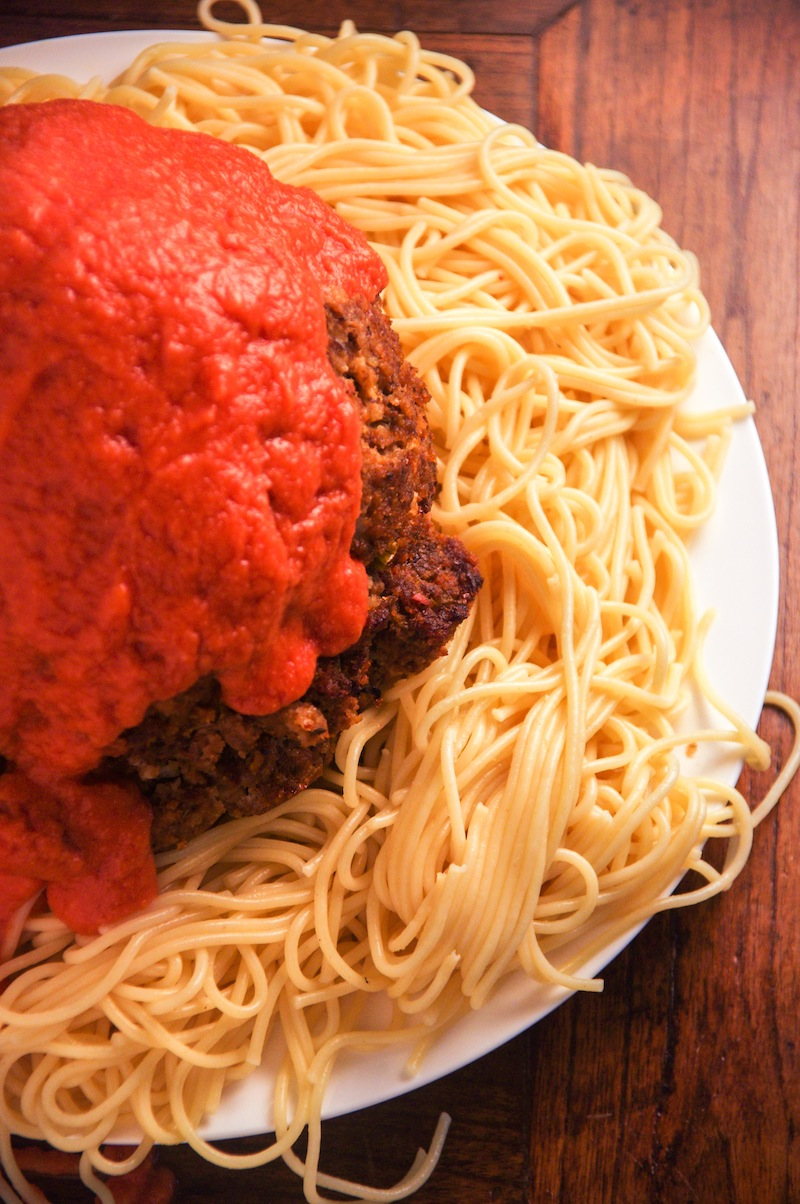 Cloudy With A Chance Of Meatballs Gigantic Meatball Meatloaf  In