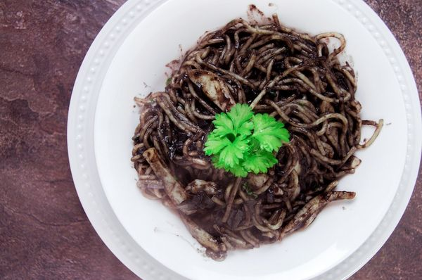 Dan Brown's Black Spaghetti from Inferno