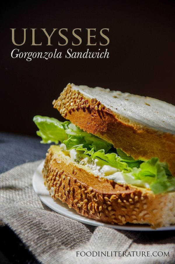 A gorgonzola sandwich from Ulysses is the food of choice for Bloomsday