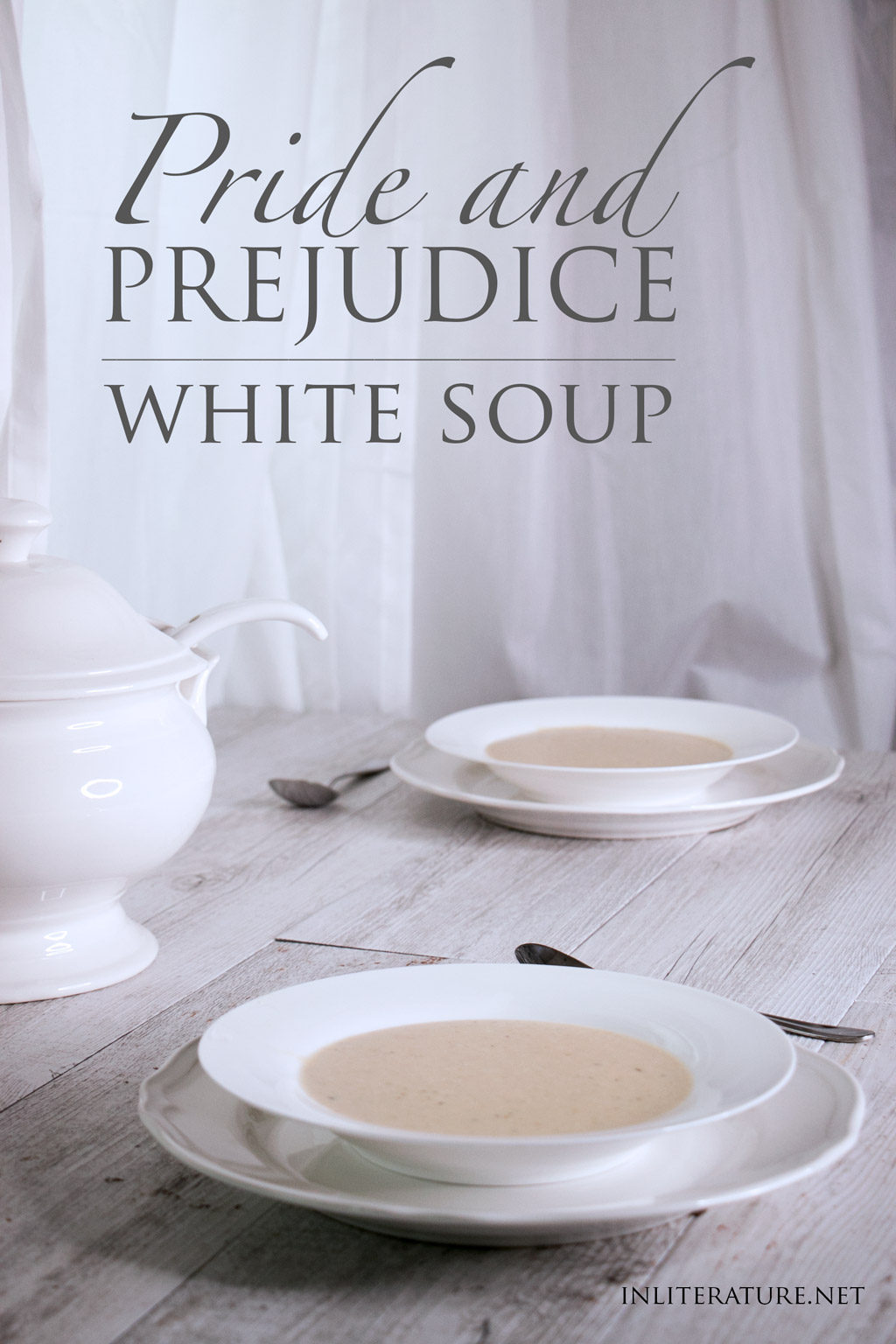 Celebrate Jane Austen's bicentenary with this white soup recipe that was made for Mr. Bingley's Netherfield Ball.