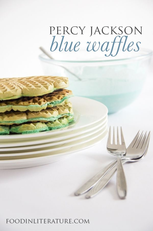 Percy Jackson and the Sea of Monsters; Blue Waffles, Trial Two