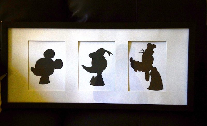 Downloadable Disney Mickey Donald And Goofy Silhouettes