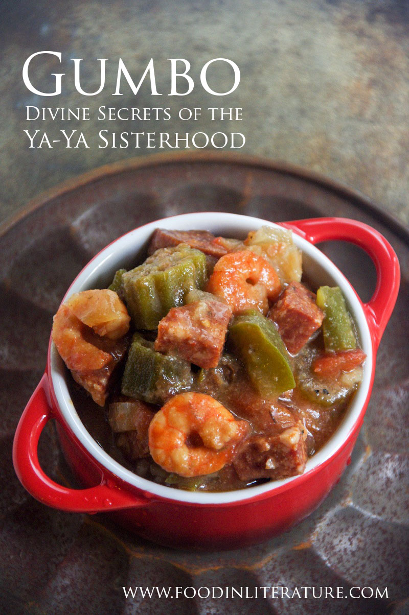 Divine Secrets of the Ya Ya Sisterhood is favourite with book clubs, so when you have your book club night, bring along a pot of gumbo to make the night authentic.