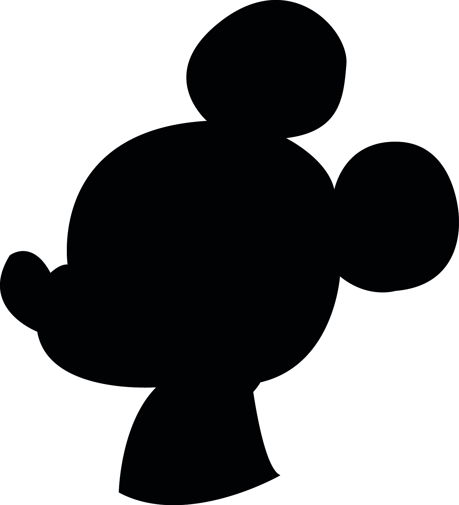 downloadable_printable_mickey_profile_silhouette