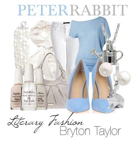 literary fashion peter rabbit bryton taylor