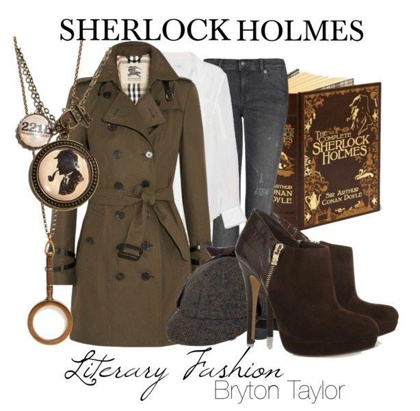 Literary Fashion | Sherlock Holmes via BrytonTaylor.com