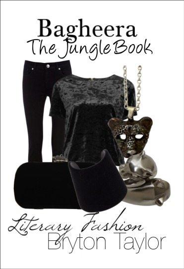 Bagheera; The Jungle Book, Literary Fashion via BrytonTaylor.com