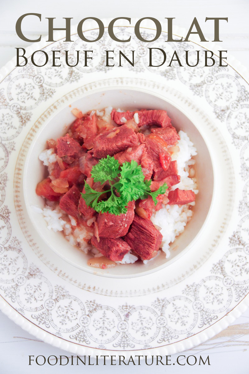Dish up this easy Boeuf en Daube recipe from the book Chocolat on a cold day to feel warmed and full.
