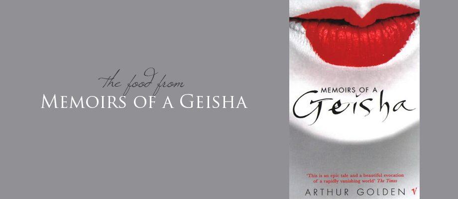 Food from Memoirs of a Geisha via BrytonTaylor.com