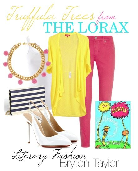Literary Fashion | Truffula Trees from The Lorax via BrytonTaylor.com