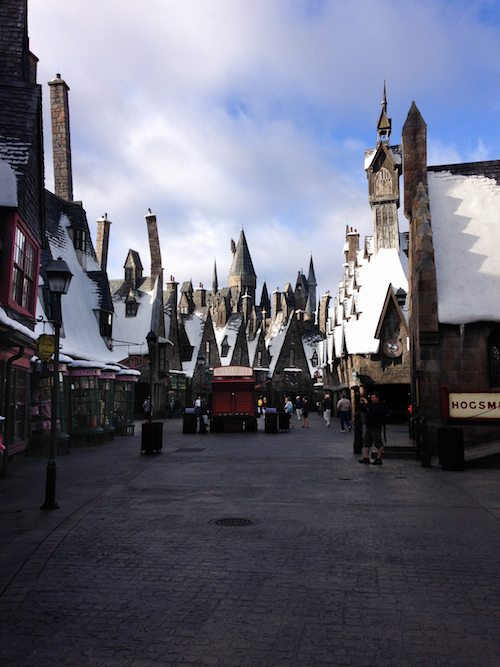 The Wizarding World of Harry Potter Hogsmeade via BrytonTaylor.com