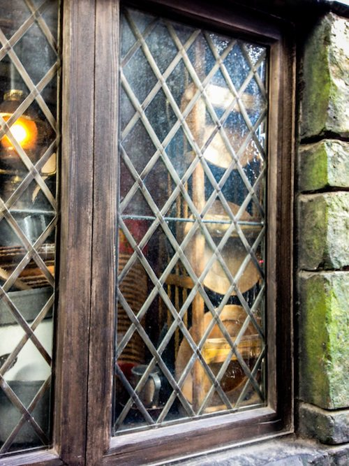 The Three Broomsticks Kitchen Window at The Wizarding World of Harry Potter via BrytonTaylor.com