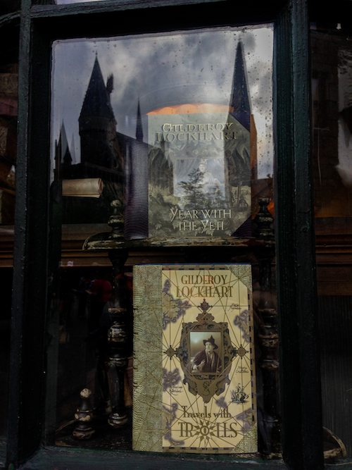 Tomes and Scrolls Window at The Wizarding World of Harry Potter via BrytonTaylor.com
