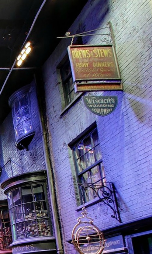 Diagon Alley Brews and Stews hostel