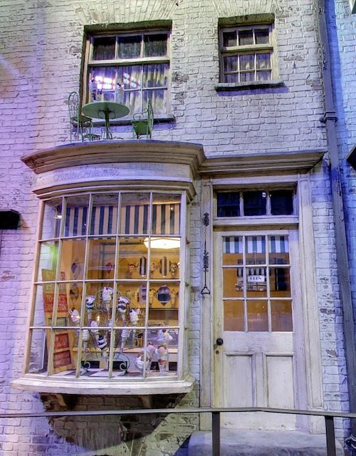 Diagon Alley Florian Fortescue's Ice Cream Parlour
