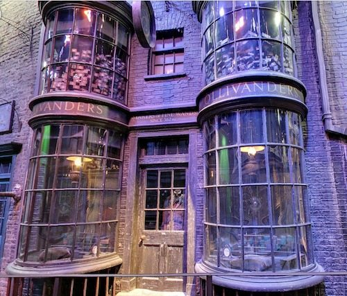 Diagon Alley Ollivanders Wand Shop