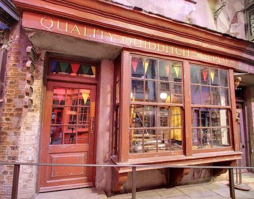 Diagon Alley Quality Quiddich Supplies