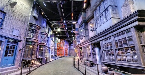 Diagon Alley at The Making of Harry Potter London