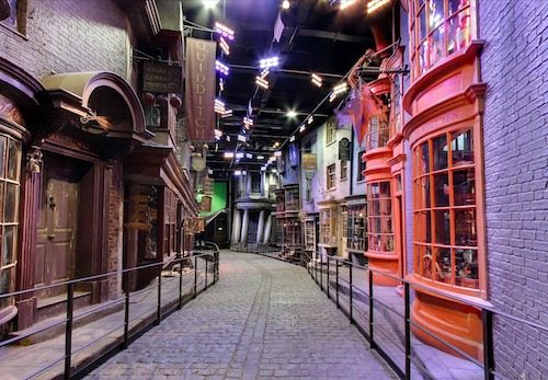 Diagon Alley | The Making of Harry Potter