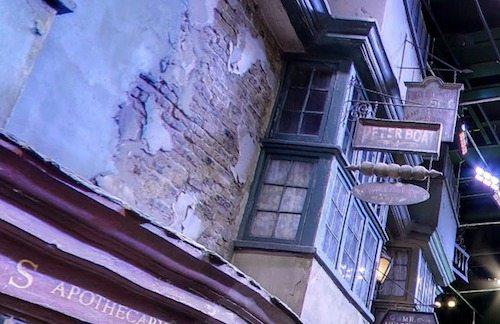 Diagon alley Peter Boat