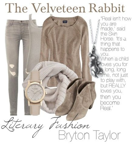 Literary Fashion | The Velveteen Rabbit via BrytonTaylor.com