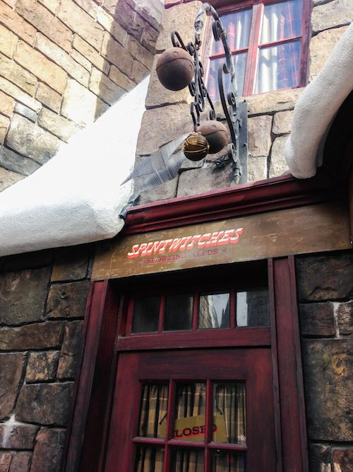 Spintwitches at The Wizarding World of Harry Potter via BrytonTaylor.com