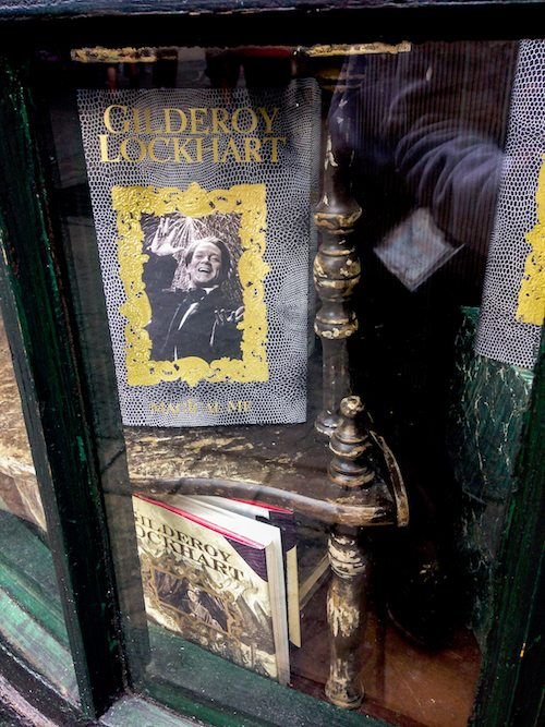 Gilderoy Lockhart books at Wizarding World of Harry Potter via BrytonTaylor.com