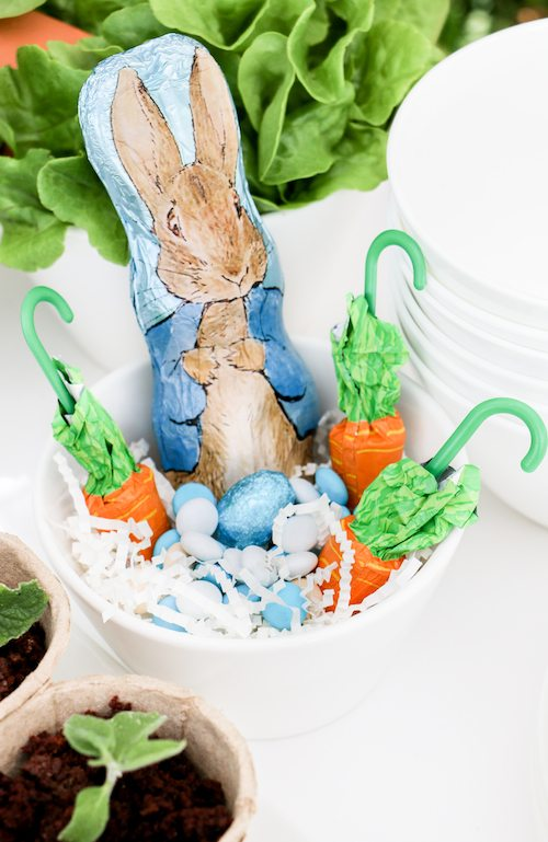 Peter Rabbit Easter Basket via BrytonTaylor.com