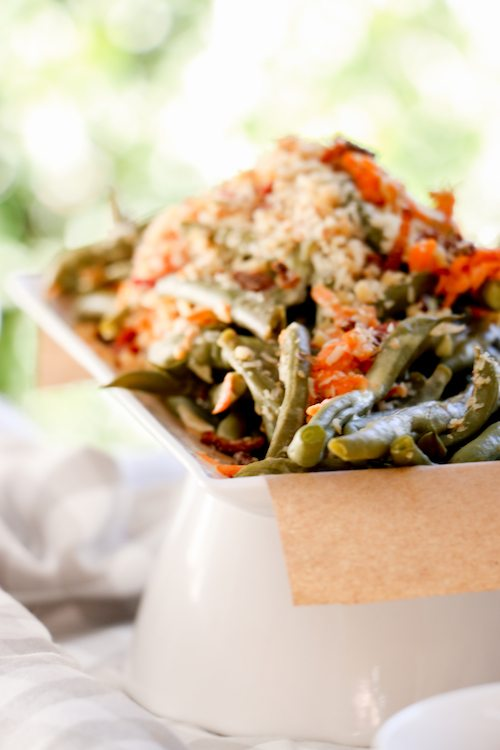 Green Bean Salad | Rabbit's Garden | Winnie the Pooh via BryonTaylor.com