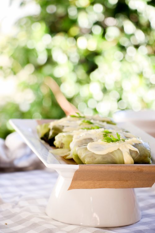 Rabbit's Garden | Winnie the Pooh | cabbage rolls via BrytonTaylor.com
