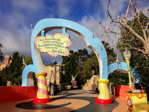 Seuss Landing at Universal Island of Adventure via BrytonTaylor.com