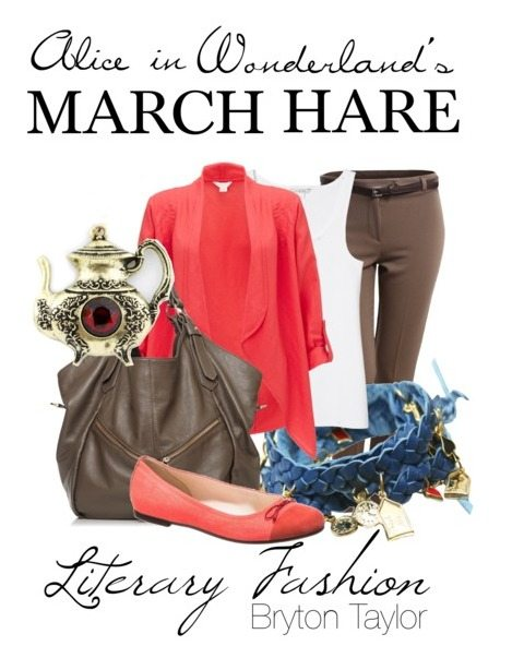 Alice in Wonderland March Hare | Literary Fashion via BrytonTaylor.com