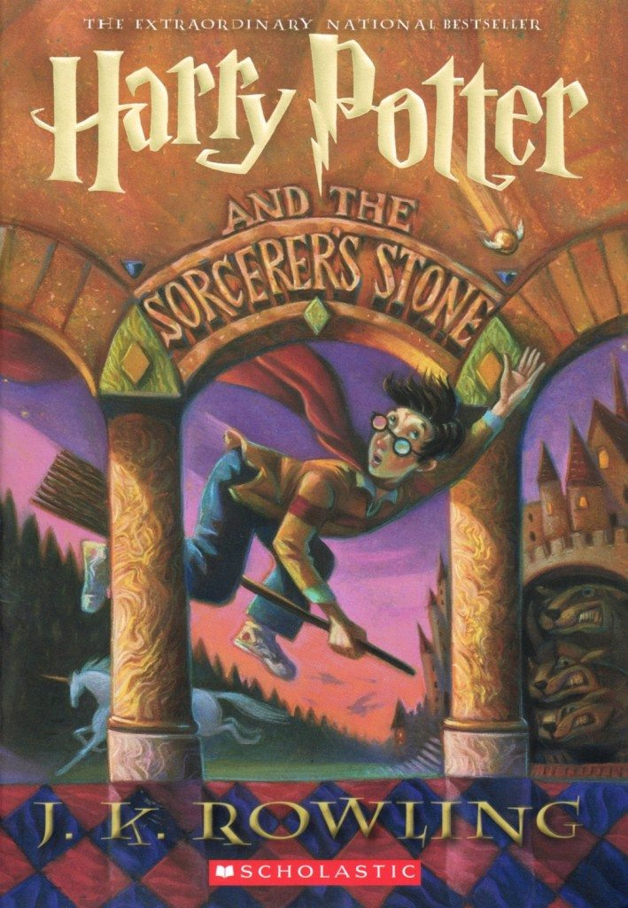 Food list from Harry Potter and the Sorcerer's Stone