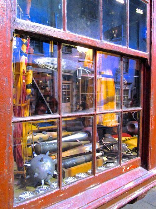 Quidditch window