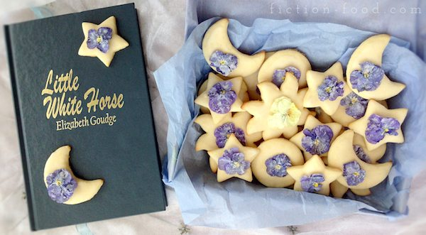 Sugar Flower Cookies | the little white horse | Food adventures in fiction
