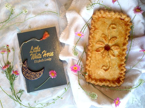 Veal pie from the little white horse by Food Adventures in Fiction