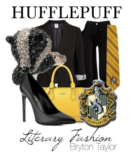 Hufflepuff literary fashion from Harry Potter