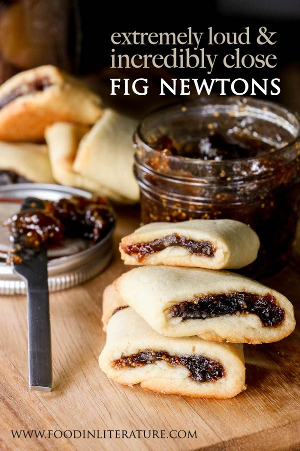 Homemade fig newtons are not only easy to make, they also taste 100% better than store bought! Inspired by the book Extremely Loud & Incredibly Close.
