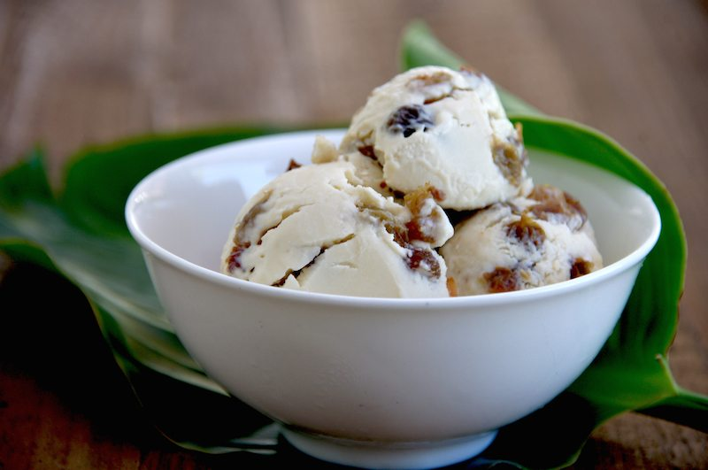 treasure isalnd rum and raisin coconut ice cream recipe