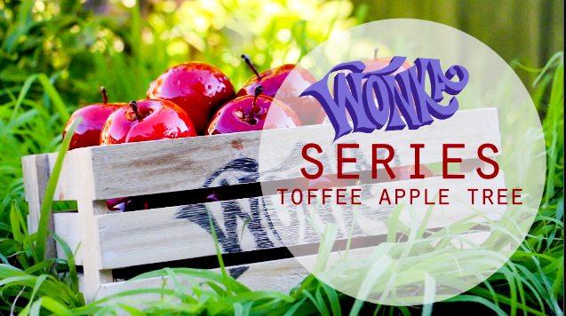 Wonka Toffee Apple Tree Recipe via Food in Literature | www.brytontaylor.com