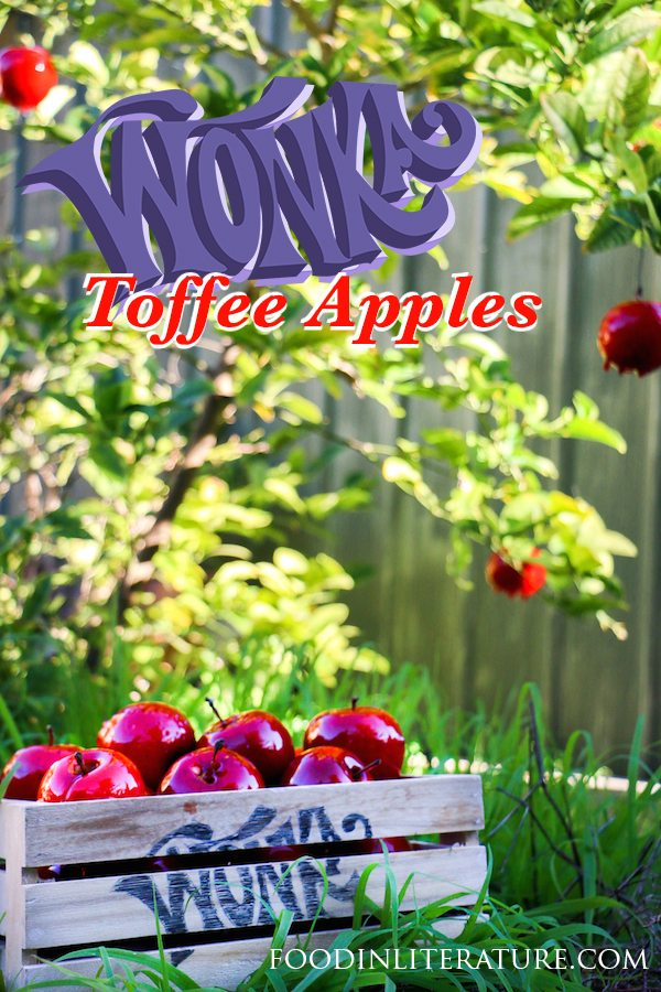 We might not be able to pick toffee apples straight from the trees like Wonka, but this easy recipe makes it seem we can