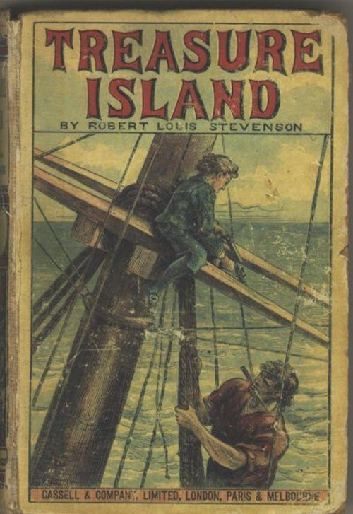 Treasure Island book cover links to food list